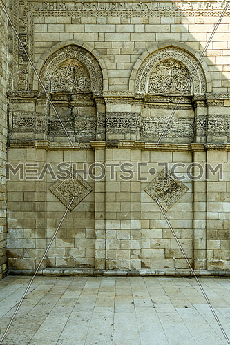 ELHakem Mosque brick wall