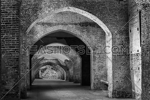 Ancient fortified tunnel of Vigevano