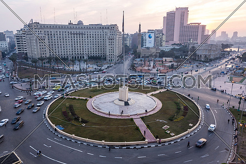 Long Shot for Tahrir Square by day
