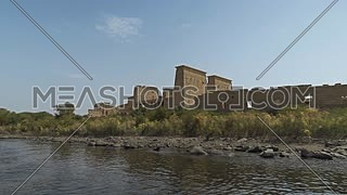 Temple of Philae seen from the boat