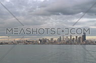 Seattle Skyline - time lapse (2 of 3)