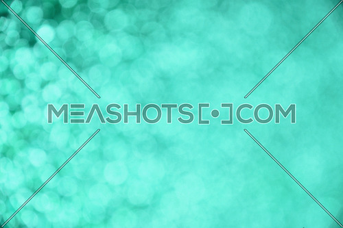 Teal spring glitter bright light colors abstract blur effect background