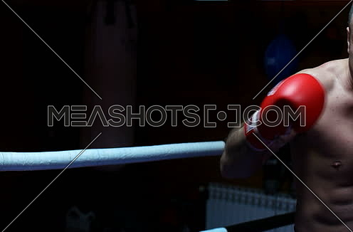 Boxer Trains In The Dark and preparing for next fight