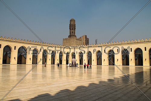a photo for Hakem Mosque in old Fatimid Cairo, Egypt