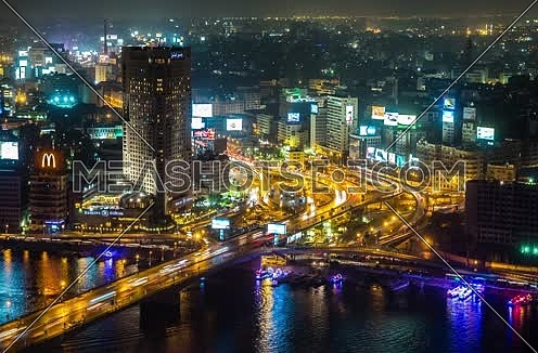 Timelapse of Downtown Cairo at Night