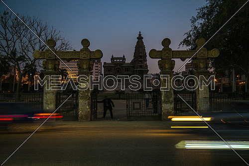 Shot for Le Baron Palace at Salah Salim Street at sunset
