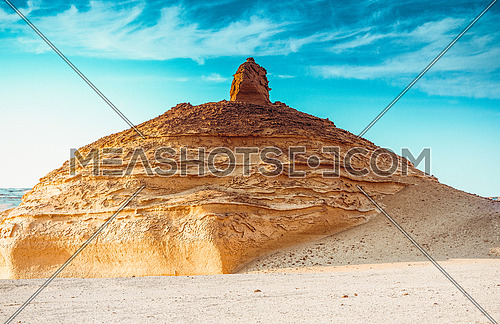 Golden Mountain at Wadi Al-Hitan