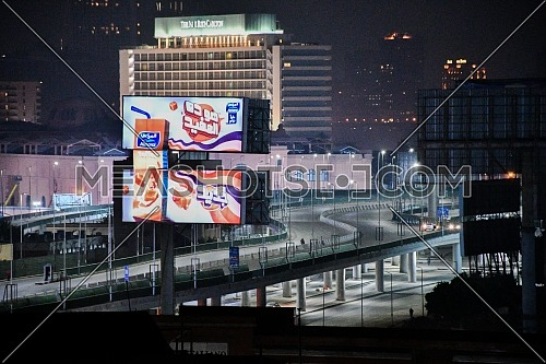 Long shot for 6th October Bridge, Downtown Cairo