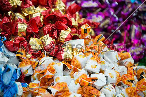 some sweets put in display