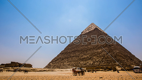 The Great Giza Pyramids in Egypt