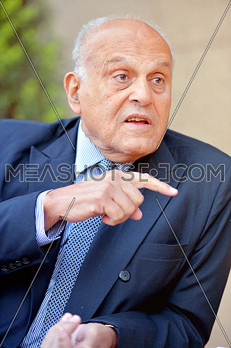 Cardiologist Sir Magdy Yakoub Egyptian heart surgeon during an interview on January 17 2012