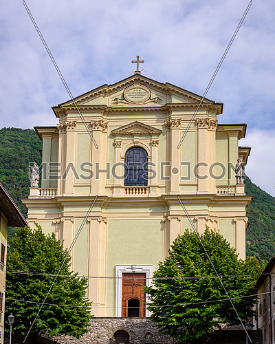 Santa Maria church Pisogne italy