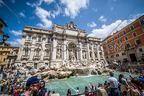 The Trevi Fountain, Rome - Italy
