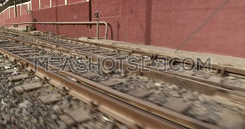 Tracking shot for Railway at day