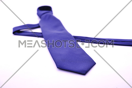 business fashion isolated new necktieon white background