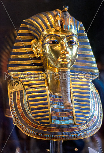 Ancient Pharonic Egyptian Figure from King Tut Treasure in the Egyptian Musuem