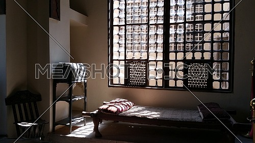 The Gayer-Anderson Museum is located in Cairo, Egypt, adjacent to the Mosque of Ahmad ibn Tulun in the Sayyida Zeinab