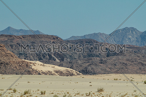 Panorama shot for Ain Hodouda -Sinai at day.