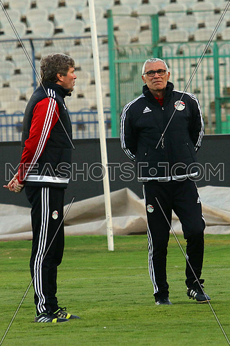 Egypt national football team traning
