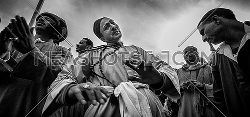 The sufi dance in the celebrations of the birth of Rifai 24/3/2016