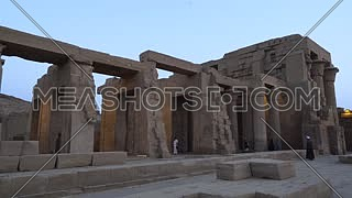Track for The Temple of Kom Ombo - Aswan, Egypt. by day