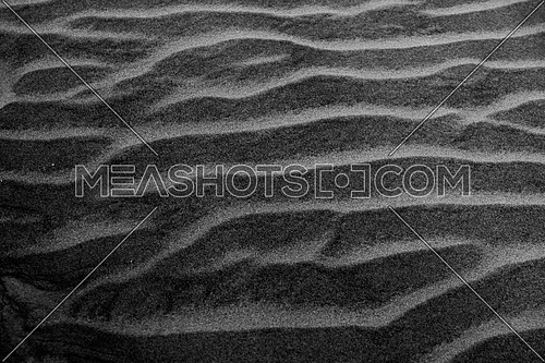 Black and white sand texture