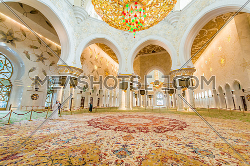 Sheikh Zayed mosque  Sheikh Zayed mosque is the largest in UAE