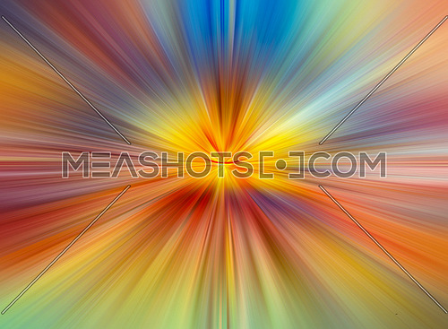Abstract colorful lines and shapes background good for technology ideas and designs.