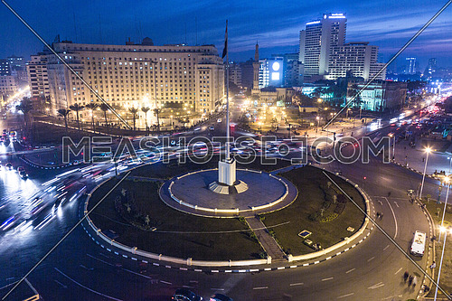 Long Shot for Tahrir Square From day to Night