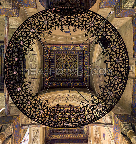 El refai mosque ceiling & chandelier