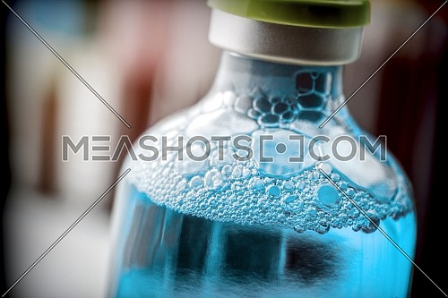 Medicine In Vial, Ready For Vaccine Injection, conceptual imagen