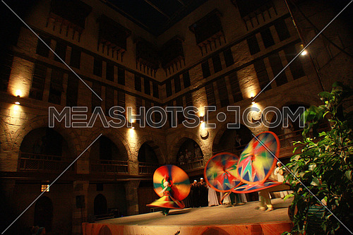 Tanoura Show in Wekalet El Ghoury, cairo, egypt