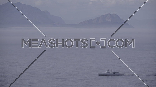 View of a South African Navy National Defence Force ship