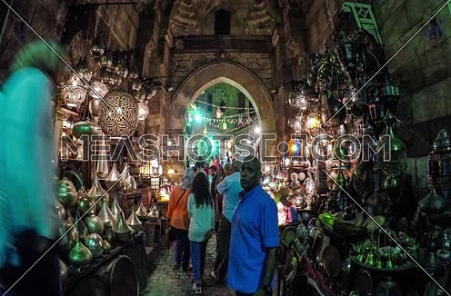 Khan el Khalili Timelapse at Night