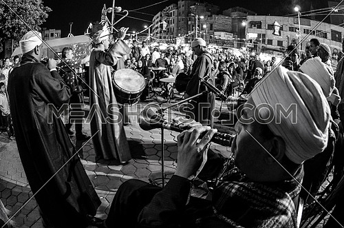 "Celebrations of ""moled al sayeda zeinab"" Cairo, Egypt on 25 april 2017"