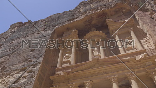 Right pan of the front of the Treasury in Petra