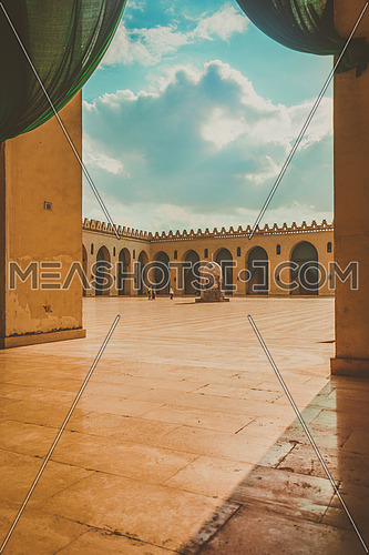 Courtyard Of  El Hakim Mosque - EL Moez Street