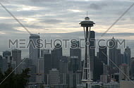 Seattle Skyline - time lapse (3 of 3)