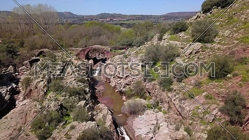 Roman Bridge of Vadollano, which is part of the route of the route Augusta, enclave of special scenic and historical interest, because to the beauty o