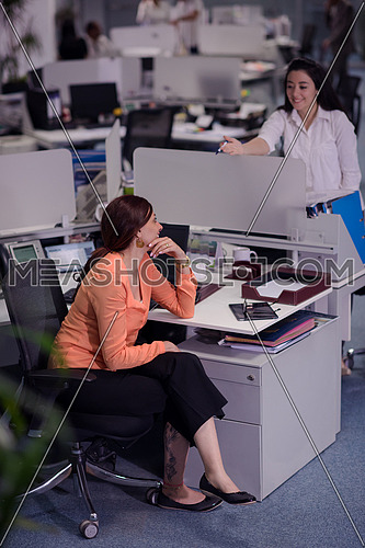 businesswoman at workplace