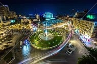 Tahrir Square timelaps Slow Shutter Speed