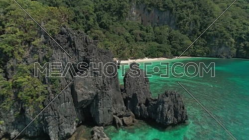 Aerial shot for 7 Comandos in Philippines at day