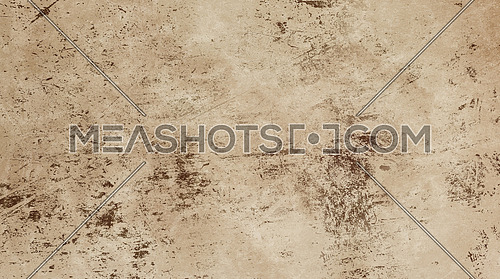 Grunge old vintage dirty shabby distressed beige and brown texture background with uneven noise