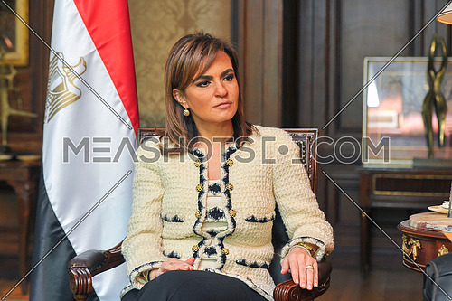 Her Excellency Dr. Sahar Nasr the Egyptian Minister of Investment and International Cooperation