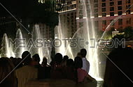 Visitors take photos of Bellagio fountains (2 of 3)