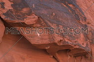 A view of the Petroglyphs left by the Anasazi people in the southern Nevada desert in and around the valley of fire.
