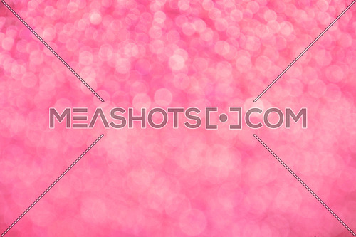 Pink festive glitter tender bright magic light circles abstract blur effect background