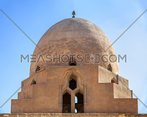 Dome of the ablution fountain of Ibn Tulun Mosque, located in Cairo, Egypt