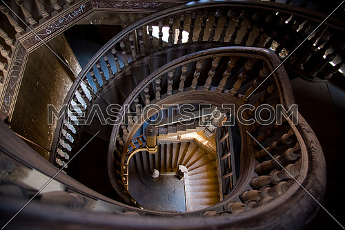 Stairs of Baron Empain Palace in Heliopolis