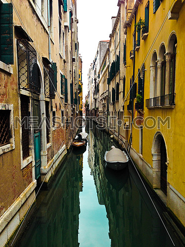 A water canal in venice italy